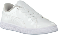 Witte PUMA Sneakers BASKET CRUSH PATENT AC  - medium