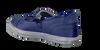 BANA&CO Ballerines 24110 en bleu - small
