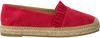 KANNA Espadrilles KV8000 en rouge - small