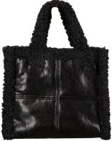 Zwarte STAND STUDIO Handtas LOLITA BAG  - medium