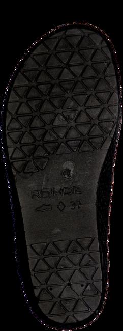 Zwarte ROHDE ERICH Pantoffels 2292  - large