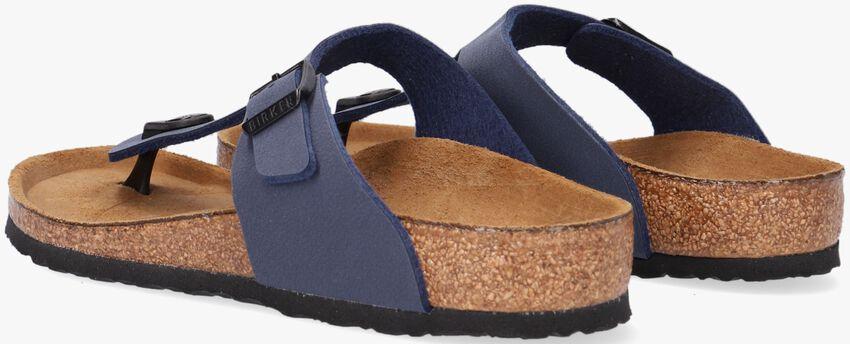 Blauwe BIRKENSTOCK PAPILLIO Slippers GIZEH KIDS  - larger