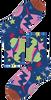 HAPPY SOCKS Chaussettes HYSTERIA VIOLA ANKLE SOCK en blanc  - small