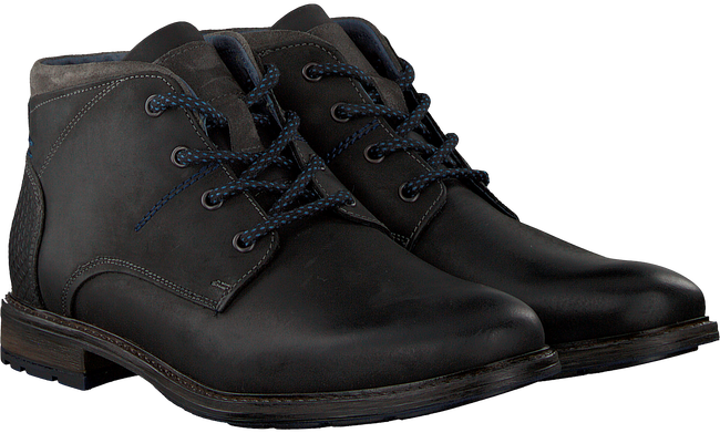 OMODA Bottines à lacets 880 en noir - large