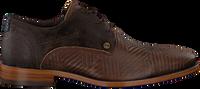 Bruine REHAB Nette schoenen SOLO ZIGZAG  - medium