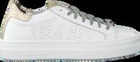 P448 Baskets basses THEA en blanc  - medium