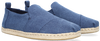 Blauwe TOMS Instappers DECONSTRUTED ALPARGATA ROPE M - small