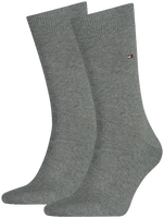 TOMMY HILFIGER Chaussettes 371111 en gris - medium