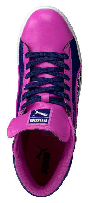 PUMA Baskets 354577 en rose - large