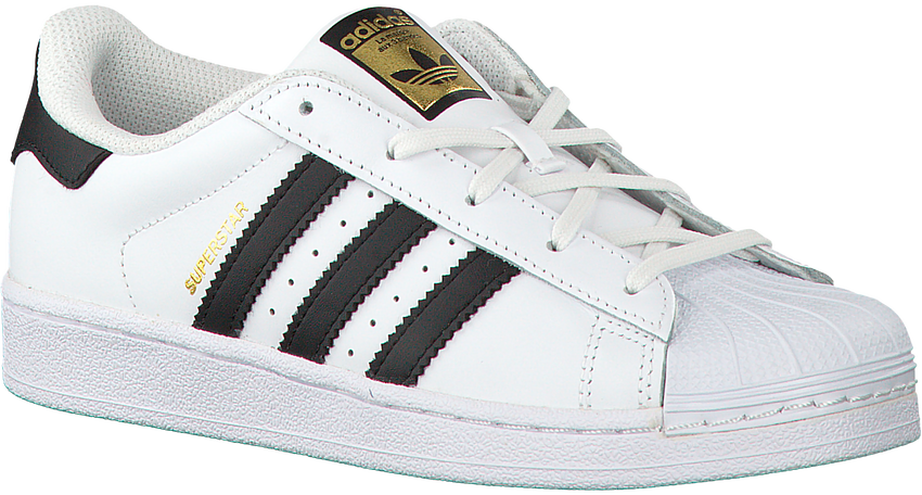 Witte ADIDAS Sneakers SUPERSTAR C - larger