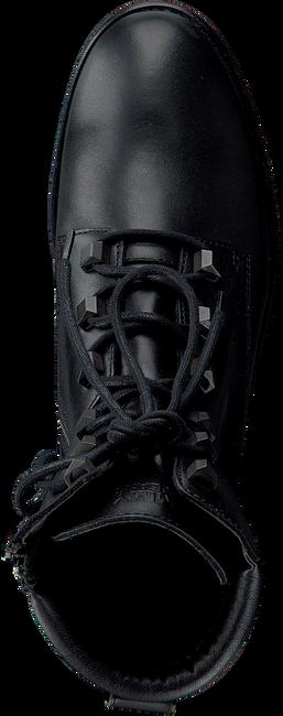 TOMMY HILFIGER Bottines à lacets PIN LOGO LACE UP en noir  - large