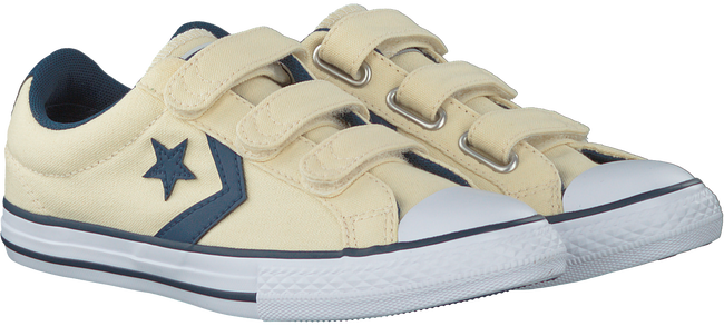 Witte CONVERSE Sneakers STAR PLAYER 3V OX KIDS  - large