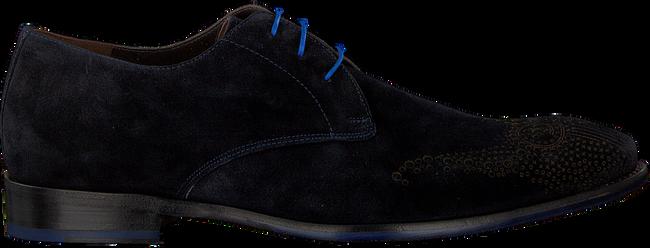 FLORIS VAN BOMMEL Chaussures à lacets 18075 en bleu - large