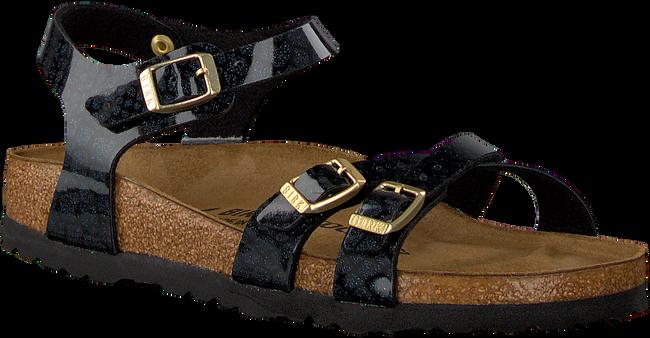 Black BIRKENSTOCK PAPILLIO shoe KUMBA MAGIC SNAKE  - large
