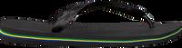 Zwarte HAVAIANAS Slippers BRASIL LOGO - medium