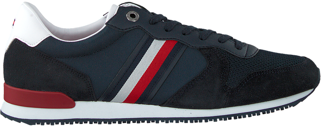 Blauwe TOMMY HILFIGER Lage sneakers ICONIC RUNNER  - large