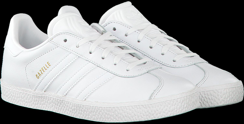de5e09d78f5f Witte ADIDAS Sneakers GAZELLE KIDS - Omoda.be