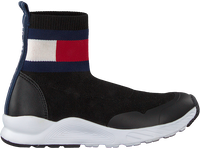 Zwarte TOMMY HILFIGER Hoge sneaker BOOTIE SNEAKER  - medium