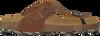 Cognac DEVELAB Slippers 48079  - small