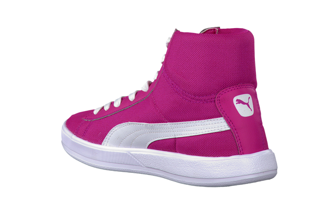 PUMA Baskets 354902 en rose - large