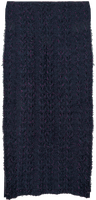 Blauwe LE BIG Sjaal PATRICE SCARF  - medium