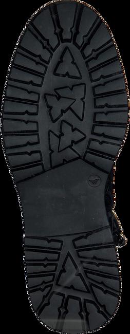 RED-RAG Bottines à lacets 76606 en noir  - large