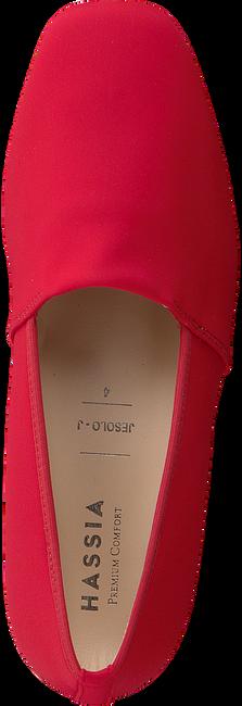HASSIA Chaussures à enfiler JESOLO en rouge  - large