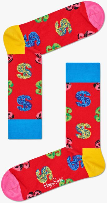 HAPPY SOCKS Chaussettes ANDY WARHOL DOLLAR - large