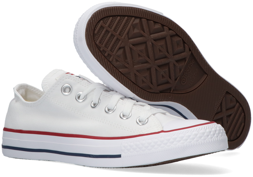 Witte CONVERSE Sneakers CHUCK TAYLOR ALL STAR OX DAMES - larger