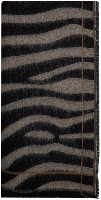 NOTRE-V Foulard CIRA en marron  - large