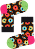 HAPPY SOCKS Chaussettes KIDS DONUT SOCK en blanc  - small