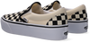 VANS Slip-on baskets CLASSIC SLIP ON PLATFORM en blanc - small