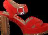 UNISA Sandales VIKEN en rouge  - small