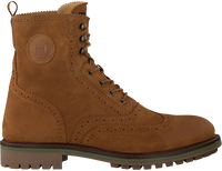 SCOTCH & SODA Bottines à lacets NATRON en cognac  - medium