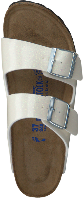 BIRKENSTOCK PAPILLIO Tongs ARIZONA DAMES en blanc - large