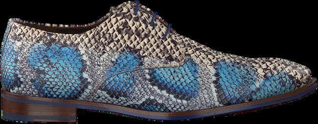 Blauwe FLORIS VAN BOMMEL Nette schoenen 18224  - large