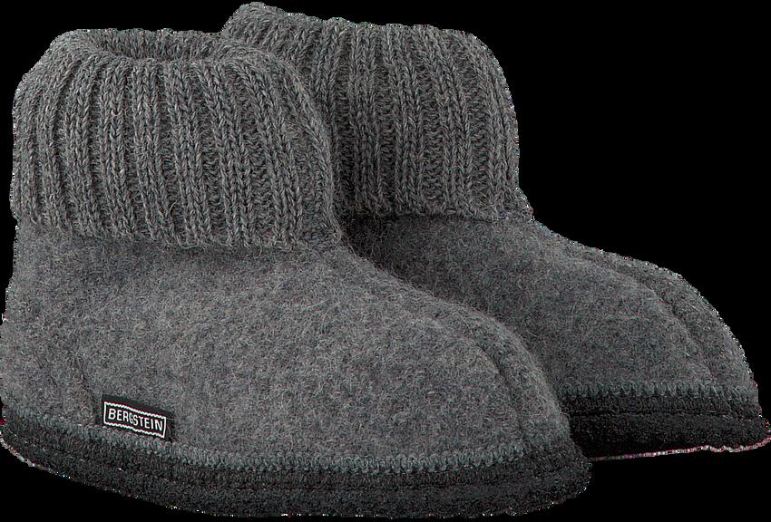 Grijze BERGSTEIN Pantoffels COZY - larger
