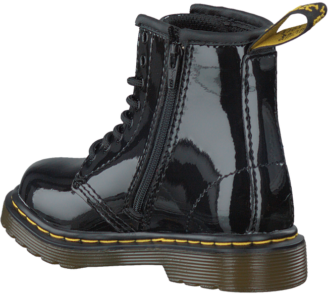 DR MARTENS Bottines à lacets DELANEY/BROOKLY en noir - large