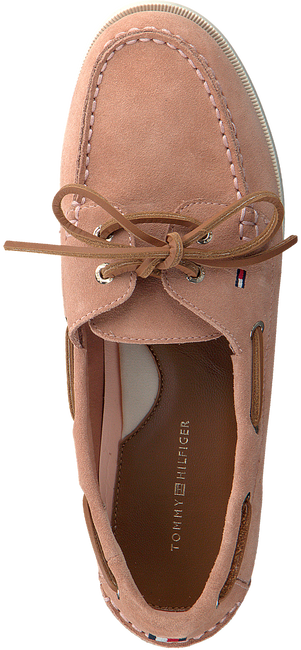 Roze TOMMY HILFIGER Instappers CLASSIC BOAT SHOE WMNS  - large