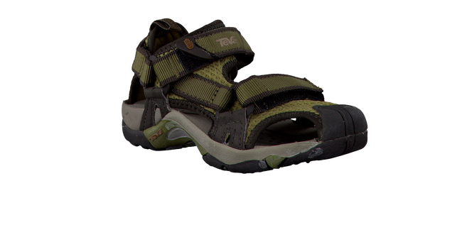 green TEVA shoe K TOACHI 6205  - large