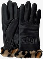 Zwarte UGG Handschoenen CUFF LOGO TECH  - medium