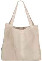 Witte STUDIO NOOS Shopper RIB MOM-BAG  - medium