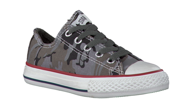 grey CONVERSE shoe AS CAMOUFLAGE  - large