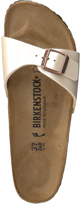 Witte BIRKENSTOCK PAPILLIO Slippers MADRID  - large