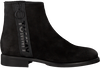 Zwarte TOMMY HILFIGER Chelsea boots TOMMY JEANS ZIP FLAT  - small