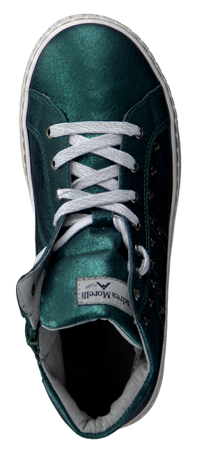 ANDREA MORELLI Baskets IB50035 en vert - large