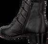 OMODAXMANON Bottines AD240 en noir - small