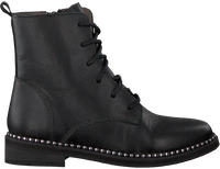 BRAQEEZ Bottines à lacets PUCK PLEUN en noir  - medium