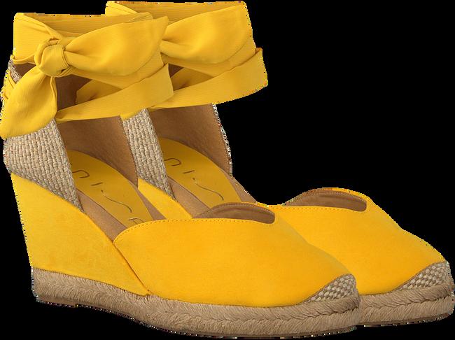 UNISA Espadrilles CHUFY en jaune  - large