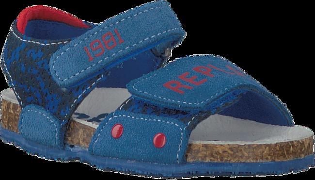 REPLAY Sandales TASCOTT en bleu - large